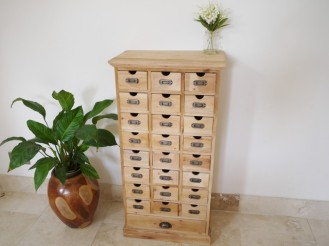 25 Draw Cabinet - Unfinished 1